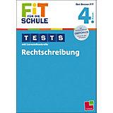 Fit für die Schule: Tests mit Lernzielkontrolle - Rechtschreibung 4. Klasse