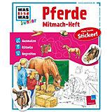 WAS IST WAS Junior: Pferde & Ponys, Mitmach-Heft