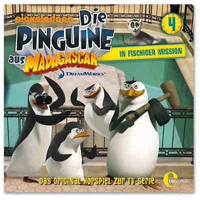 CD Die Pinguine aus Madagascar 04 In fischiger Mission