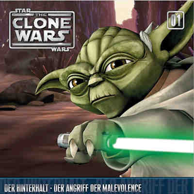 CD Star Wars - The Clone Wars 01 - Der Hinterhalt/ Der Angriff der Malevolence