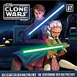 CD Star Wars - The Clone Wars 02 - Schatten der Malevolence/Zerstörung der Malevolence