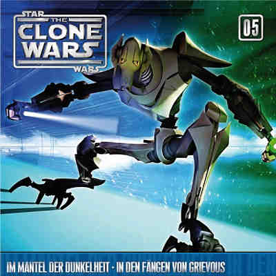 CD Star Wars - The Clone Wars 05 - Im Manter der Dunkelheit