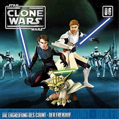 CD Star Wars - The Clone Wars 06 -  Die Ergreifung des Count