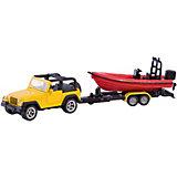 SIKU 1658 Джип с лодкой