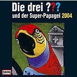 CD Die Drei ??? Super-Papagei 2004