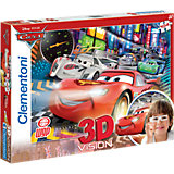 Puzzle Magic 3D 104 Teile - Cars 2: The fastest crew
