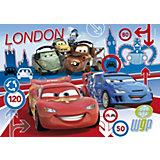 Puzzle 2 x 20 Teile - Cars 2