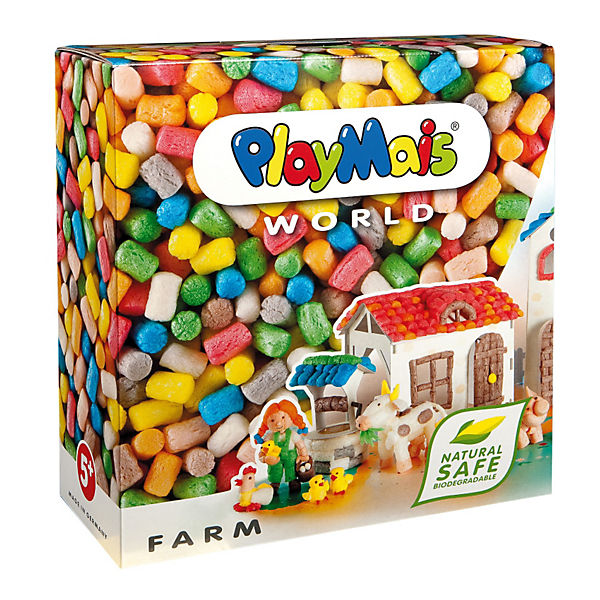 PlayMais WORLD Farm, 1000 Maisbausteine