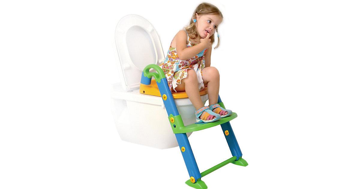 Toilettentrainer 3 in 1, bunt mehrfarbig