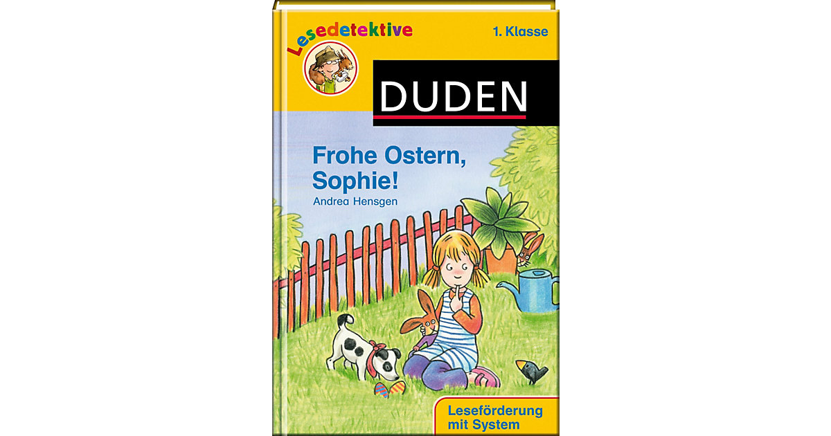 Buch - Duden Lesedetektive: Frohe Ostern, Sophie!