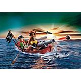 PLAYMOBIL  5137 Пираты: Пиратская лодка и акула
