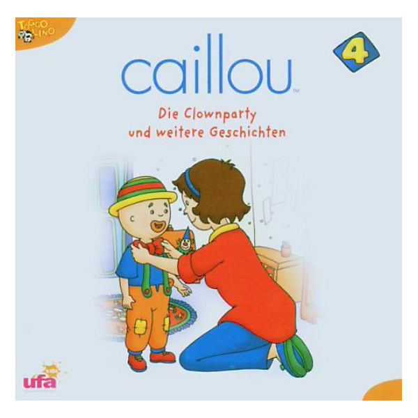 CD Caillou 04 - Die Clownparty