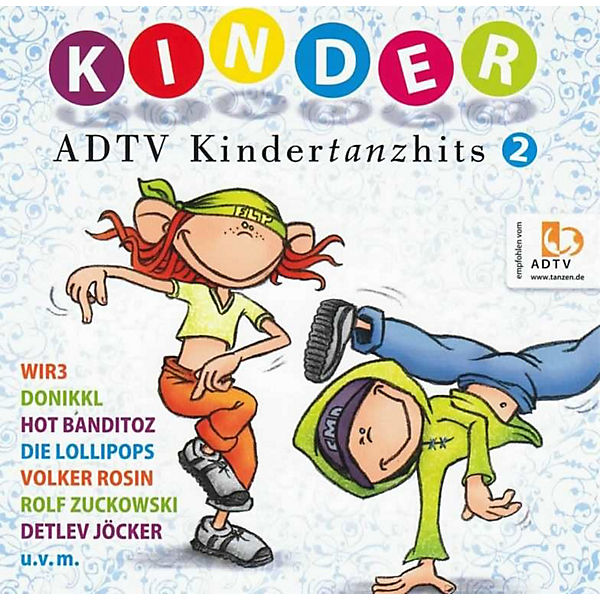 CD ADTV Kindertanzhits 2