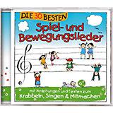 CD Die 30 besten Spiel- und Bewegungslieder
