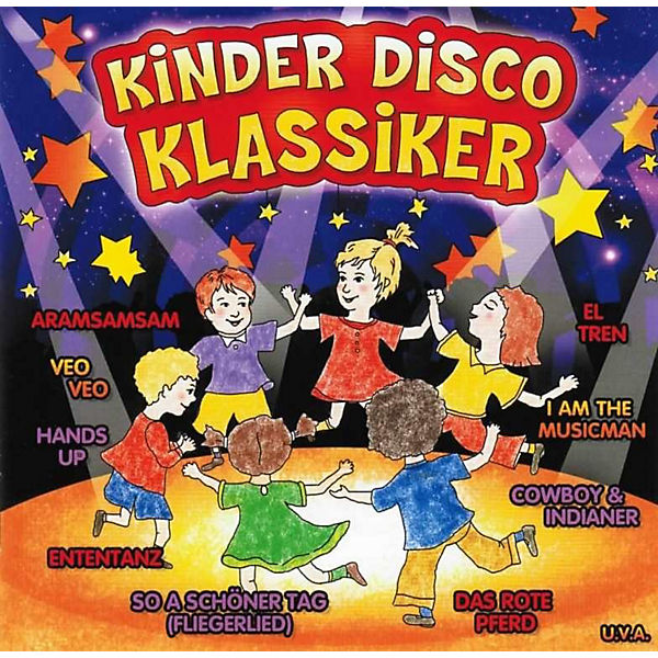 CD Kinderdisco- Klassiker