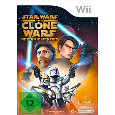 Wii The Clone Wars - Republic Heroes