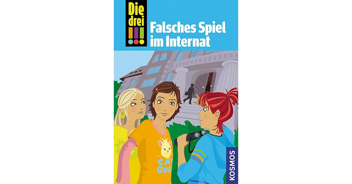Buch - Die drei !!!: Falsches Spiel im Internat