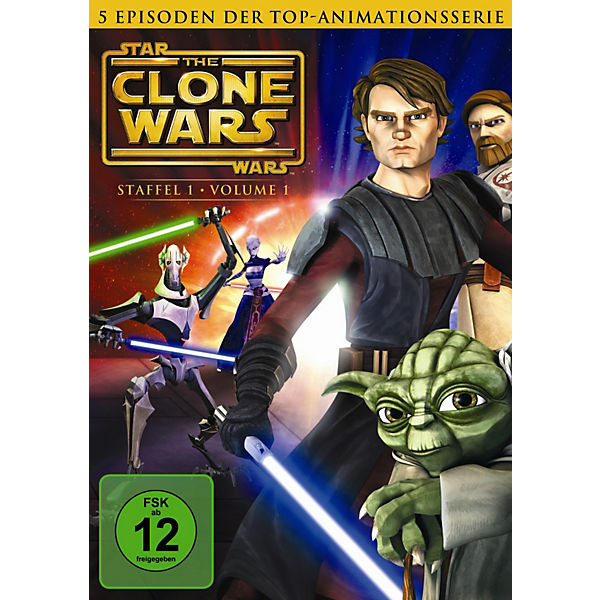 DVD Star Wars: The Clone Wars - Season 1.1