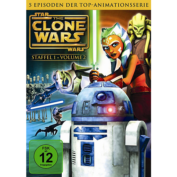 DVD Star Wars: The Clone Wars - Season 1.2