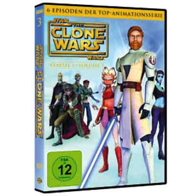 DVD Star Wars: The Clone Wars - Season 1.3