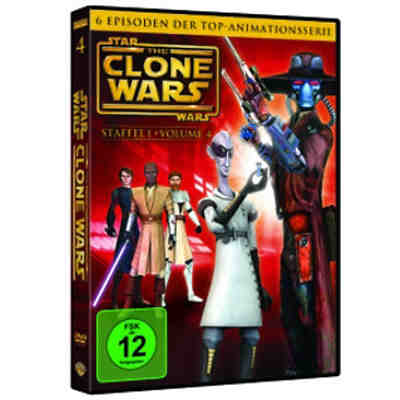 DVD Star Wars: The Clone Wars - Season 1.4