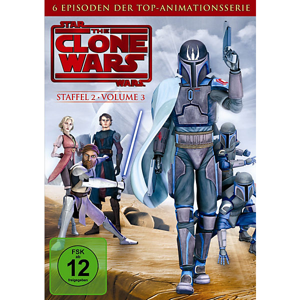 DVD Star Wars: The Clone Wars - Season 2.3