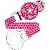 Pacifier Clip, Twist Clip, Girls