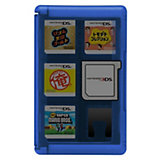 3DS Game Card Case 24 (blau)