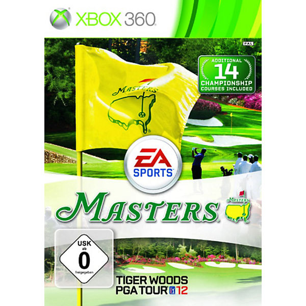 XBOX360 Tiger Woods PGA Tour 12 - The Masters