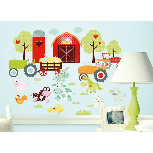 """Наклейки для декора """"Весёлая ферма"""""""
