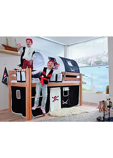 vorhangset f r spielbett eliyas und alex ohne rutsche pirat relita mytoys. Black Bedroom Furniture Sets. Home Design Ideas