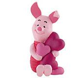 BULLYLAND Comicwelt Walt Disney Winnie the Pooh -  Piglet mit Herzen