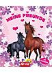 Freundebuch Motiv Pferde