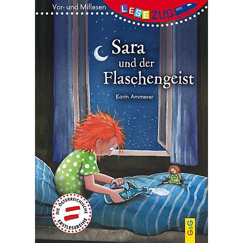 Buch - Lesezug - Vor- und Mitlesebücher: Sara und der Flaschengeist