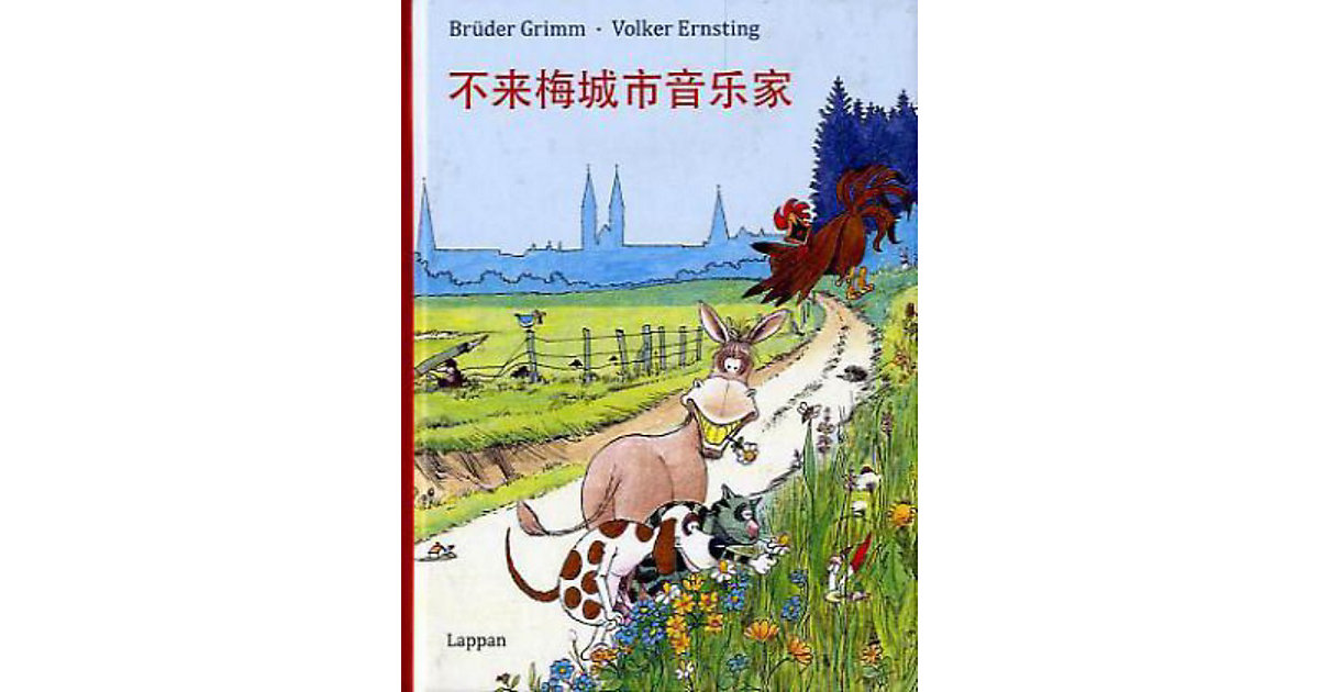 Buch - Die Bremer Stadtmusikanten, chinesische Ausgabe