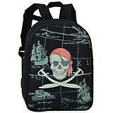 Rucksack nachtleuchtend Pirat