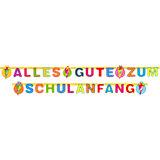 """Girlande: """"Alles Gute zum Schulanfang"""""""