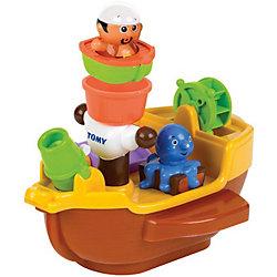 """Игрушка для ванной """"Пиратский корабль"""", TOMY"""