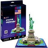 """Пазл 3D """"Статуя Свободы (США)"""", 39 деталей, CubicFun"""