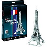 """Пазл 3D """"Эйфелева Башня 2 (Париж)"""", 33 детали, CubicFun"""