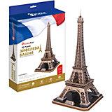 """Пазл 3D """"Эйфелева Башня (Франция)"""", 82 детали, CubicFun"""