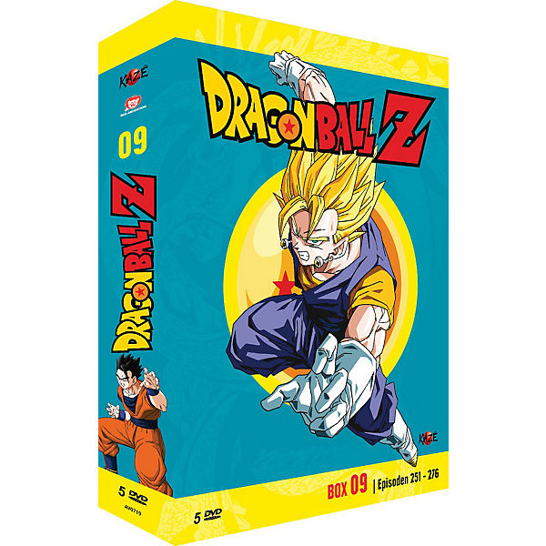 DVD Dragonball Z - Box 9