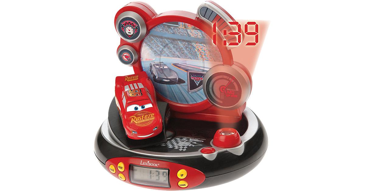 Cars Wecker mit Radio und Projektor