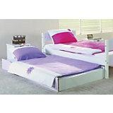 Bettkasten / Unterbett für Himmelbett STELLA, lila/weiß