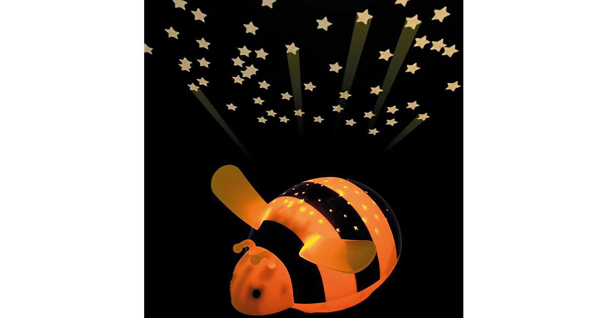 Nachtlicht Biene, LED Sternenlicht mit Farbwechsler gelb