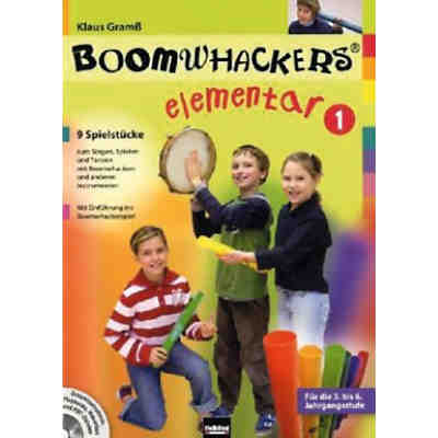Boomwhackers elementar, m. Audio-CD/CD-ROM