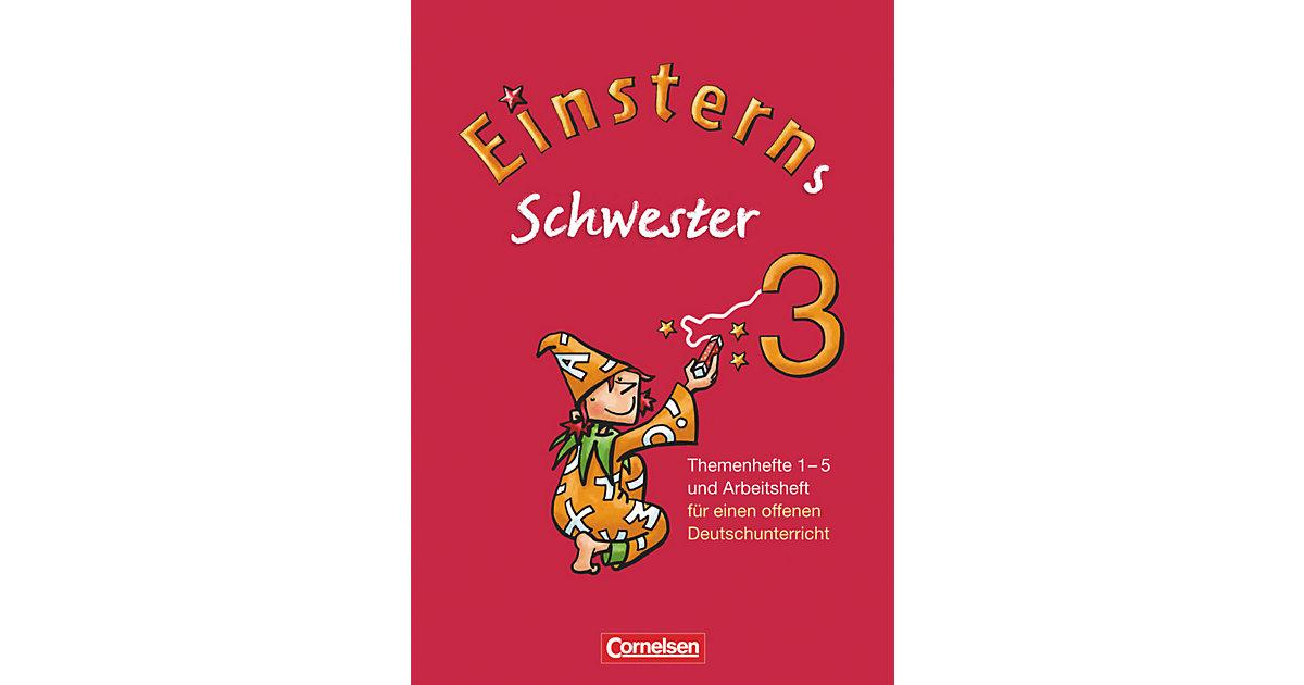 Buch - Einsterns Schwester, 3. Schuljahr: Themenhefte 1-4, Projektheft und Arbeitsheft, 6 Hefte