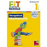 Fit für die Schule: Übungsblock Mathematik, 1. Klasse