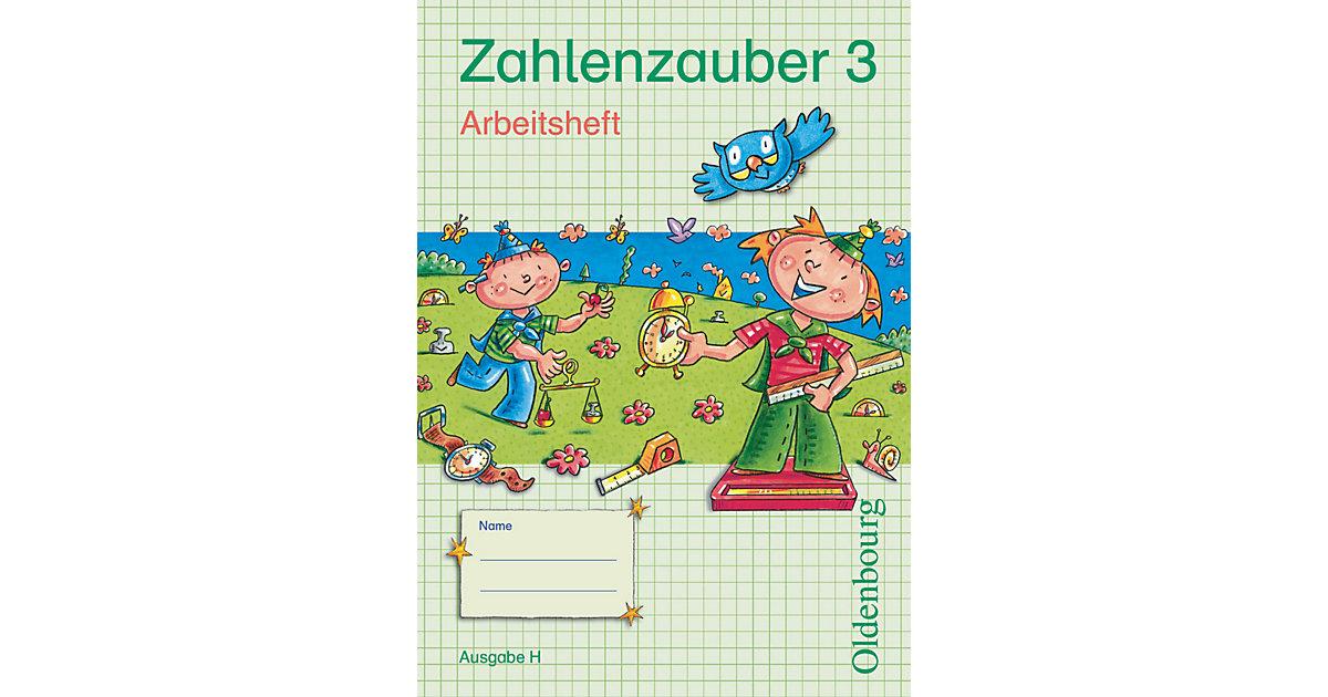 Buch - Zahlenzauber, Ausgabe H: 3. Schuljahr, Arbeitsheft