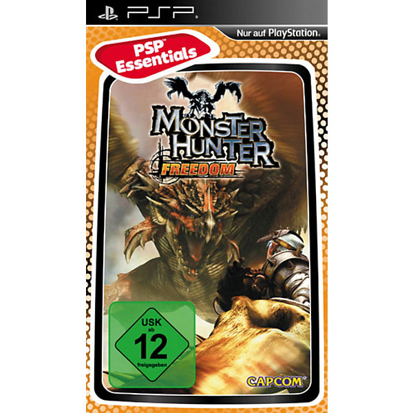 PSP Monster Hunter Freedom - Essentials